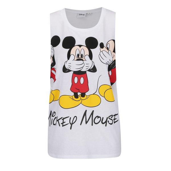 Top alb TALLY WEiJL cu print Mickey Mouse de la TALLY WEiJL in categoria maiouri