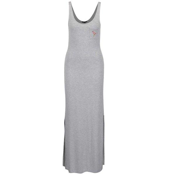 Rochie lungă gri TALLY WEiJL de la TALLY WEiJL in categoria rochii de vară și de plajă