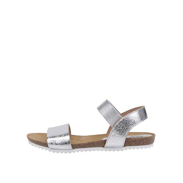 Sandale aurii OJJU din piele de la OJJU in categoria sandale