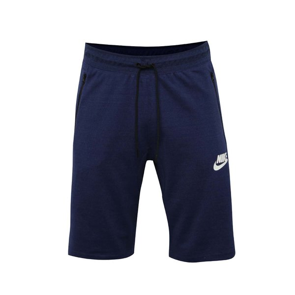 Pantaloni scurți albaștri Nike Sportwear Advance 15 cu talie elastică de la Nike in categoria Blugi, pantaloni, pantaloni scurți