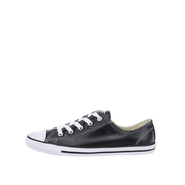 Teniși negri Converse Chuck Taylor All Star Dainty cu aspect lucios de la Converse in categoria pantofi sport și teniși