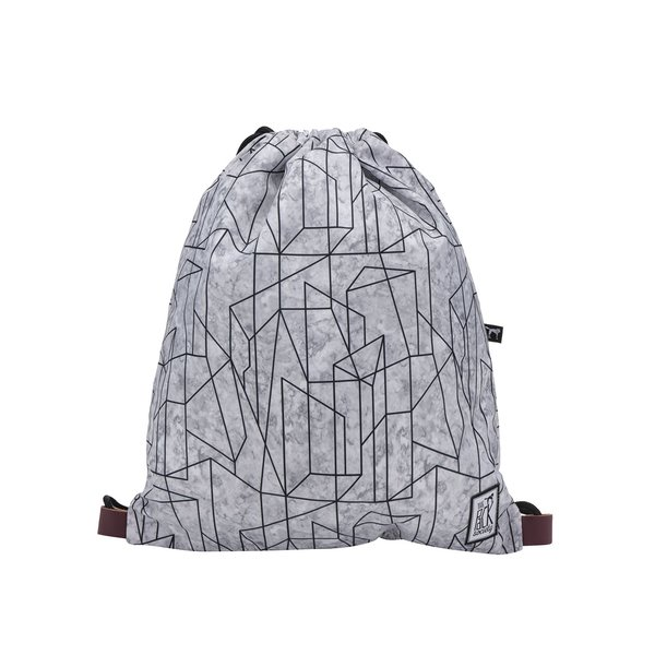 Rucsac gri unisex The Pack Society imprimeu geometric de la The Pack Society in categoria rucsacuri