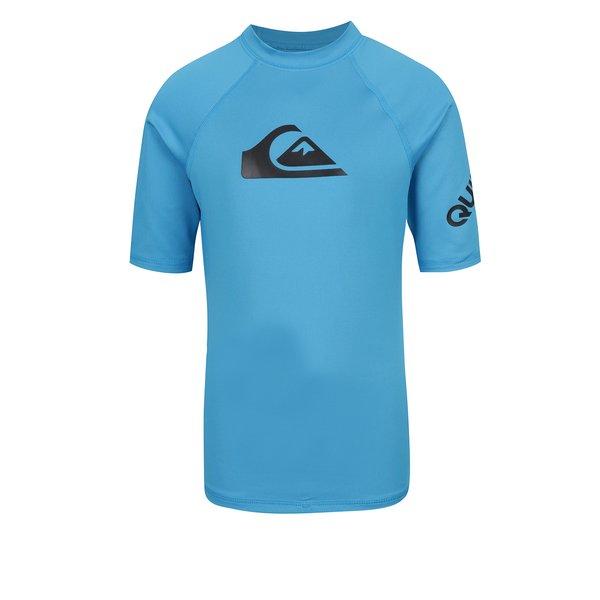 Tricou de surf albastru Quiksilver All Time pentru baieti
