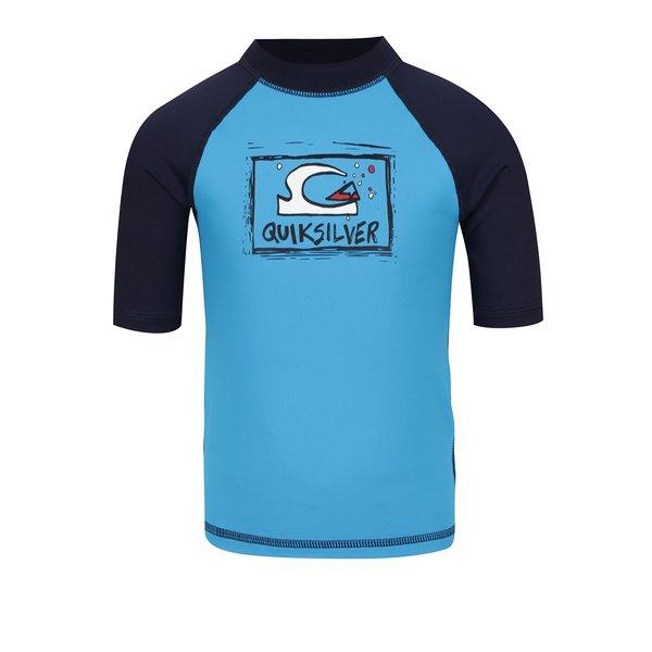 Tricou de surf albastru Quiksilver Bubble Dream pentru baieti