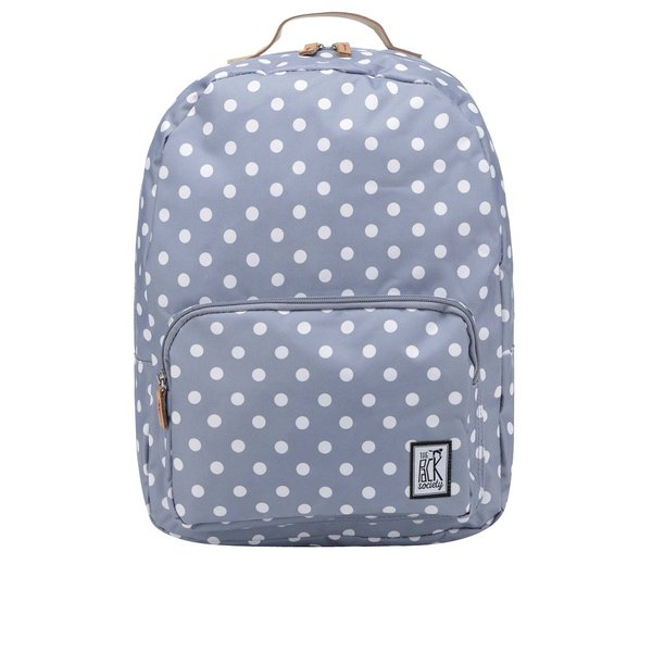 Rucsac gri The Pack Society 18 l cu model cu buline de la The Pack Society in categoria rucsacuri
