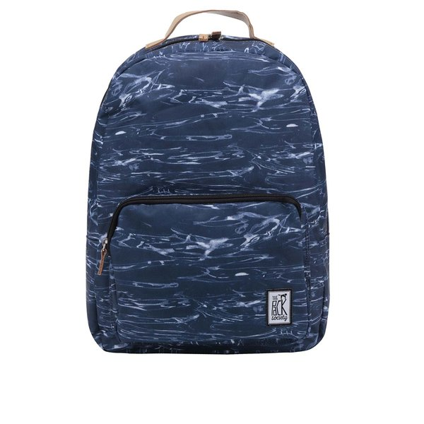 Rucsac unisex albastru închis The Pack Society 18 l cu model gri de la The Pack Society in categoria rucsacuri