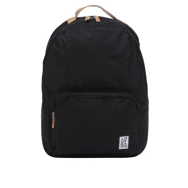 Rucsac negru unisex cu buzunar pentru laptop - The Pack Society 18 l