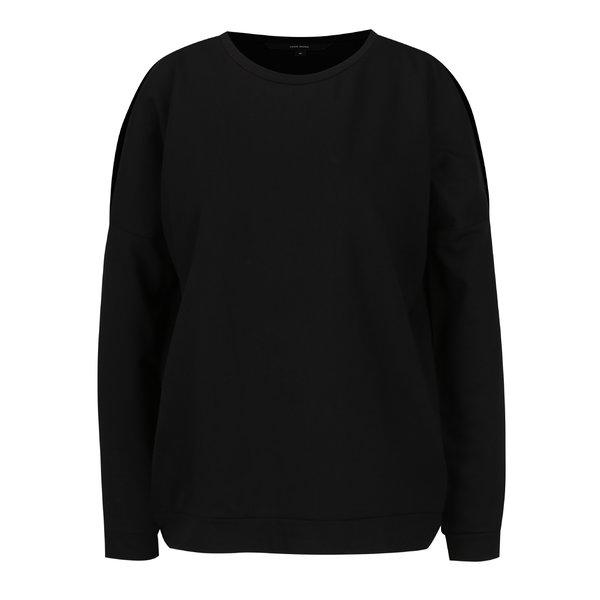 Bluză neagră VERO MODA Vippy cu decupaje