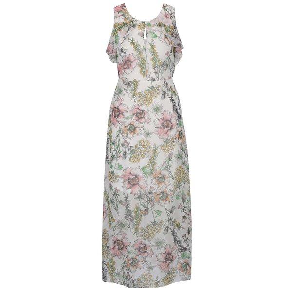 Rochie crem Dorothy Perkins Petite cu imprimeu floral de la Dorothy Perkins Petite in categoria rochii casual