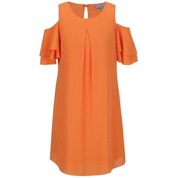 Rochie portocalie Dorothy Perkins Petite cu decupaje pe umeri de la Dorothy Perkins Petite in categoria rochii casual