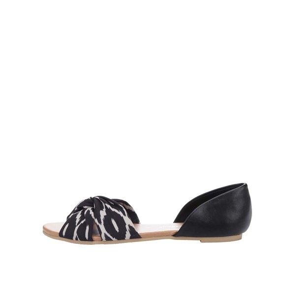Sandale negre Dorothy Perkins cu imprimeu de la Dorothy Perkins in categoria sandale