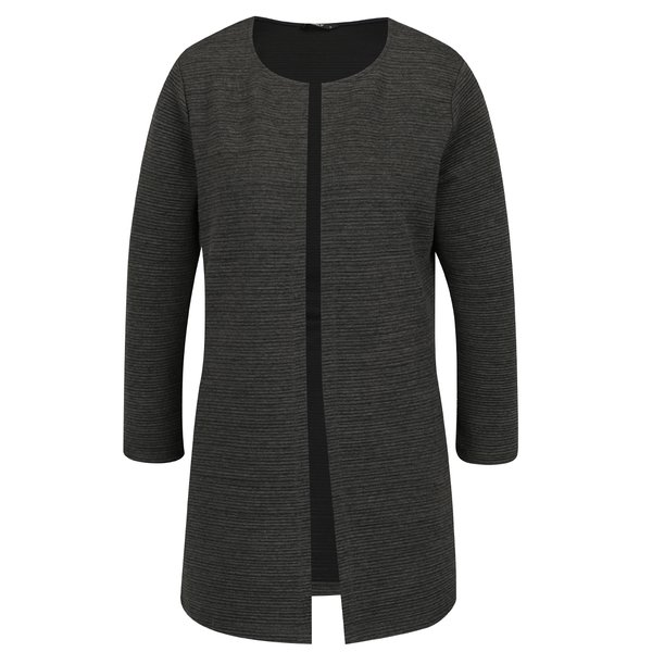 Cardigan verde închis ONLY Leco cu model cu striații de la ONLY in categoria Pulovere și hanorace