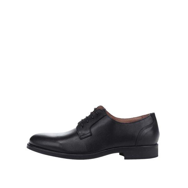 Pantofi negri din piele Selected Homme Oliver de la Selected Homme in categoria pantofi și mocasini
