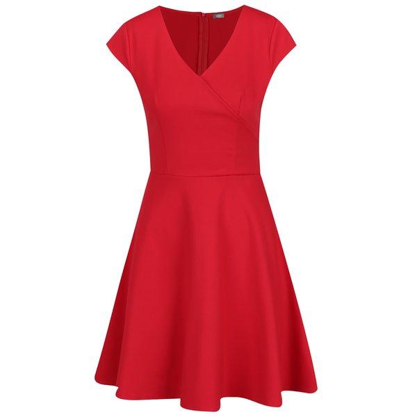 Rochie roșie ZOOT cu decolteu în V