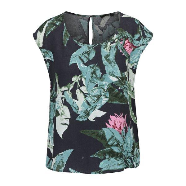 Tricou negru ONLY Elena cu imprimeu floral de la ONLY in categoria Topuri, tricouri, body-uri