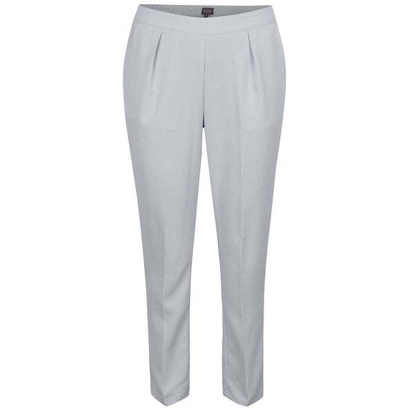 Pantaloni gri deschi Broadway Danelle cu talie elastică