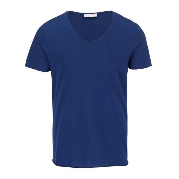 Tricou albastru - Selected Homme Merce