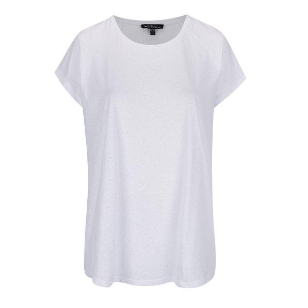 Tricou alb Ulla Popken cu decolteu rotund de la Ulla Popken in categoria Mărimi curvy