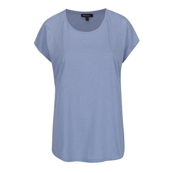 Tricou bleu Ulla Popken cu decolteu rotund de la Ulla Popken in categoria Mărimi curvy