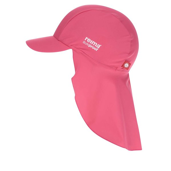 Șapcă roz cu protecție solară Reima Vesikko pentru fete de la Reima in categoria Accesorii