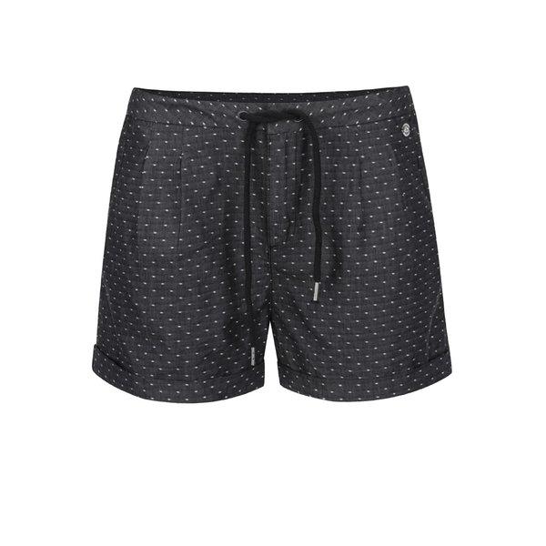 Pantaloni scurți gri închis Ragwear High Dots cu model