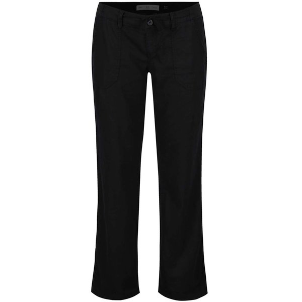 Pantaloni negri QS by s.Oliver cu buzunare oblice de la QS by s.Oliver in categoria Blugi, pantaloni, colanți