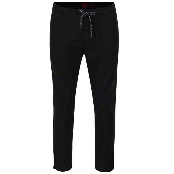 Pantaloni negri s.Oliver din bumbac de la s.Oliver in categoria Blugi, pantaloni, pantaloni scurți