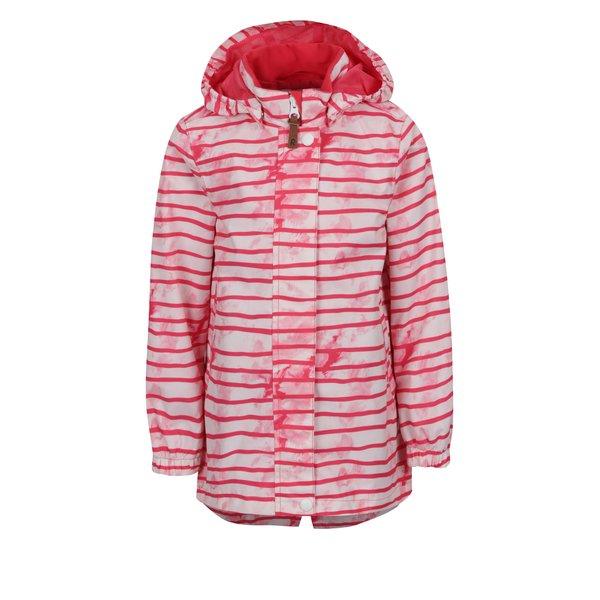 Jachetă alb&roz impermeabilă Reima Kimalle pentru fete de la Reima in categoria Geci, jachete, paltoane