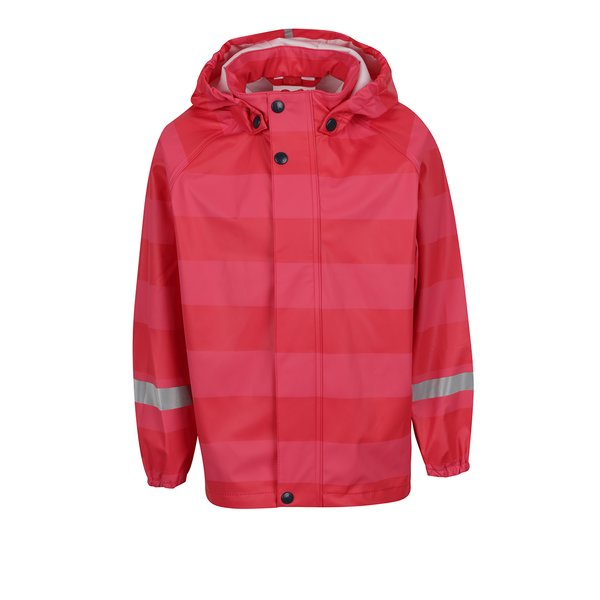 Jachetă roz&roșu impermabilă Reima Vessi pentru fete de la Reima in categoria Geci, jachete, paltoane