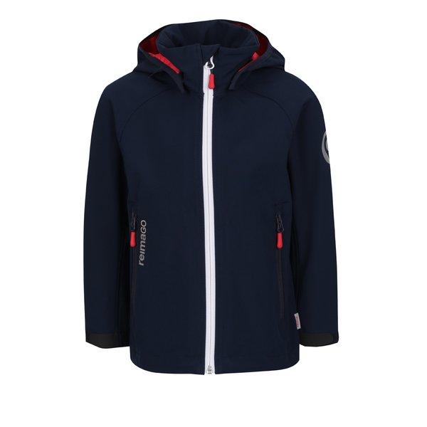 Geacă softshell albastră impermeabilă Reima Hatch pentru băieți de la Reima in categoria Geci, jachete, paltoane