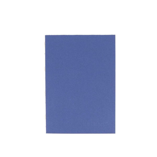 Carnetel albastru cu diferite tipuri de hârtie Mishmas