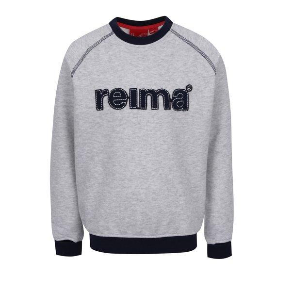 Bluză gri Reima Gunga pentru băieți de la Reima in categoria Pulovere, hanorace