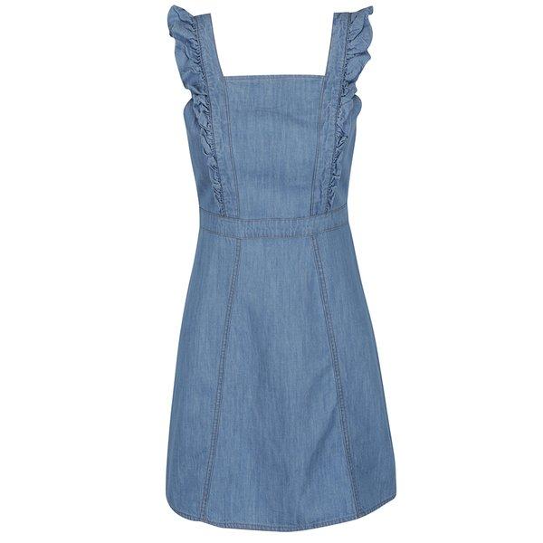 Rochie albastră din denim Miss Selfridge