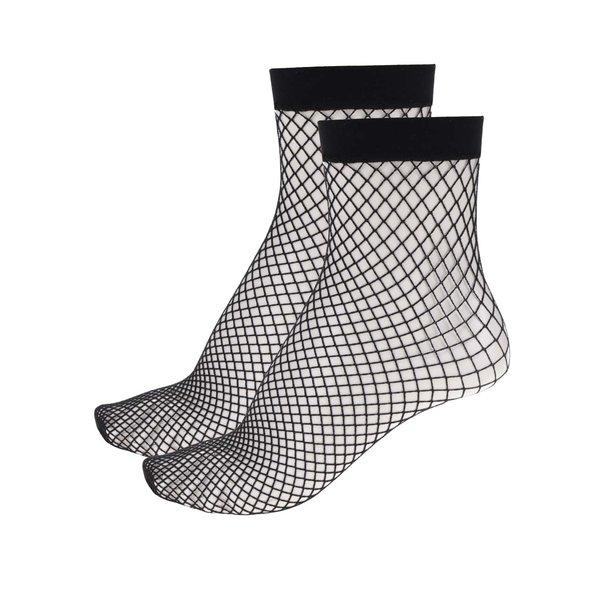 Set 2 perechi șosete negre TALLY WEiJL tip plasă de la TALLY WEiJL in categoria Dresuri si șosete