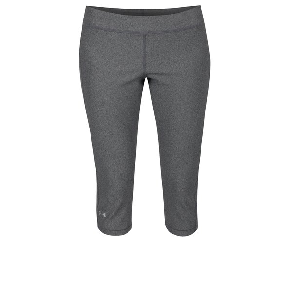 Colanți sport 3/4 gri închis Under Armour HG Armour Capri pentru femei de la Under Armour in categoria Blugi, pantaloni, colanți