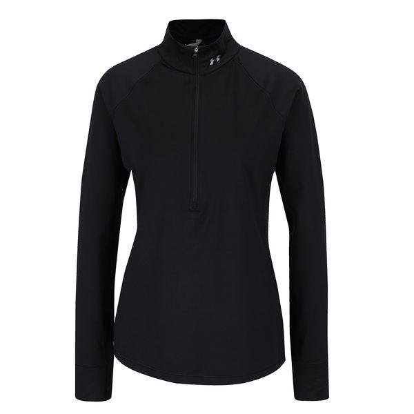 Bluză sport neagră Under Armour Coldgear pentru femei de la Under Armour in categoria Pulovere și hanorace
