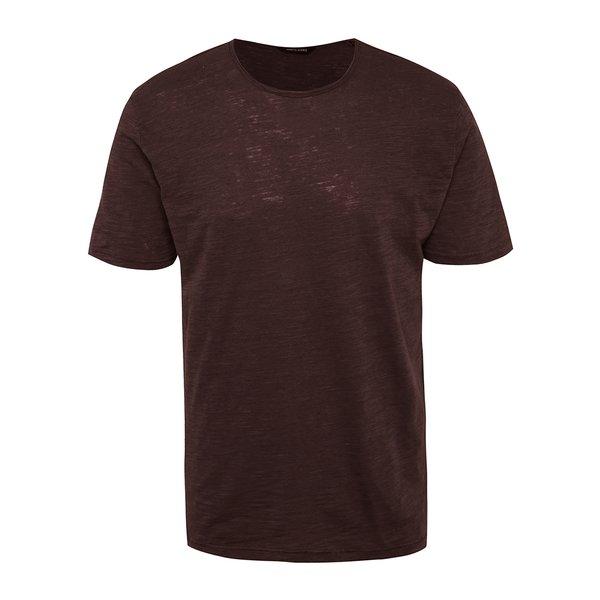 Tricou vișiniu melanj ONLY & SONS Albert de la ONLY & SONS in categoria tricouri