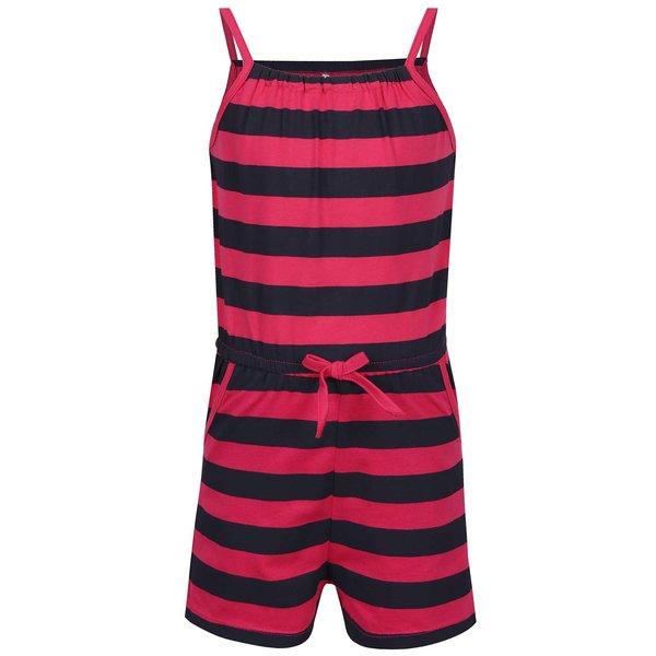 Salopetă neagru&roșu cu dungi pentru fete name it Viggakira de la name it in categoria Pantaloni, pantaloni scurți, colanți
