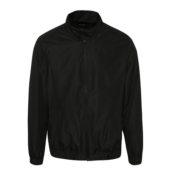 Jachetă subțire neagră ONLY & SONS Norm de la ONLY & SONS in categoria Geci, paltoane, jachete