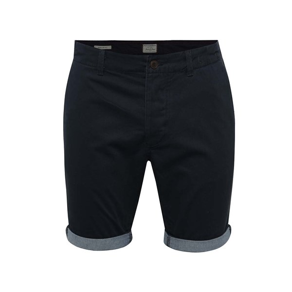 Pantaloni scurți chino bleumarin Jack & Jones Peek de la Jack & Jones in categoria Blugi, pantaloni, pantaloni scurți