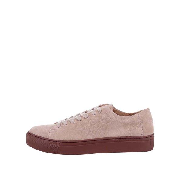 Pantofi sport roz prăfuit Selected Femme Donna din piele întoarsă de la Selected Femme in categoria pantofi sport și teniși