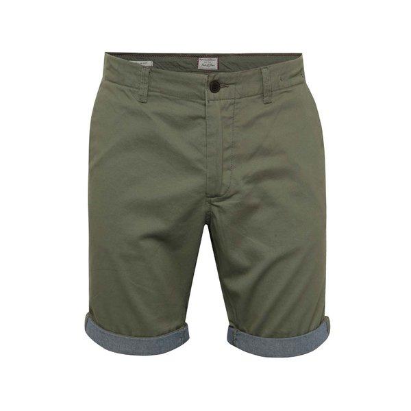 Pantaloni scurți chino kaki Jack & Jones Peek de la Jack & Jones in categoria Blugi, pantaloni, pantaloni scurți