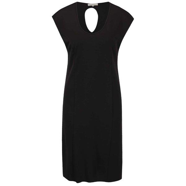Rochie neagră Selected Femme Emella cu decupaj la spate