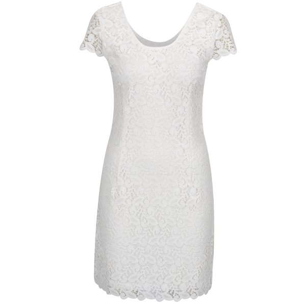 Rochie albă ONLY Sassy din dantelă de la ONLY in categoria rochii de seară