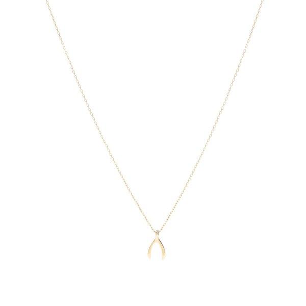 Colier auriu Pieces Elsa cu pandantiv de la Pieces in categoria Ceasuri și bijuterii