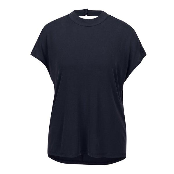Tricou albastru închis ONLY Tula cu decupaj la spate