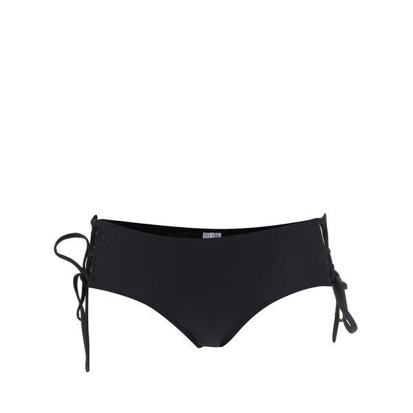 Slip de baie negru Pieces Lee cu șnururi laterale de la Pieces in categoria Lenjerie intimă, pijamale, costume de baie