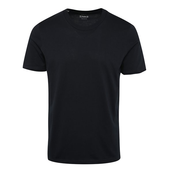 Tricou bleumarin din bumbac Selected Homme The Perfect