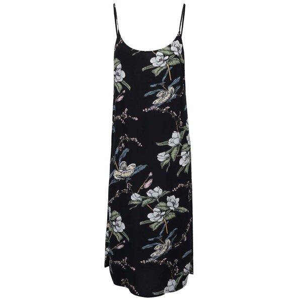 Rochie neagră ONLY Nova cu imprimeu floral de la ONLY in categoria rochii de vară și de plajă