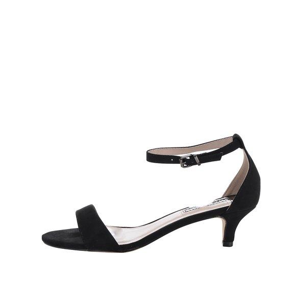 Sandale negre Dorothy Perkins cu barete încrucișate pe gleznă de la Dorothy Perkins in categoria sandale